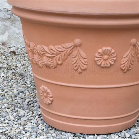vaso di plastica vaso classico in plastica con festone teraplast