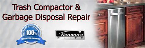 kenmore trash compactor repair
