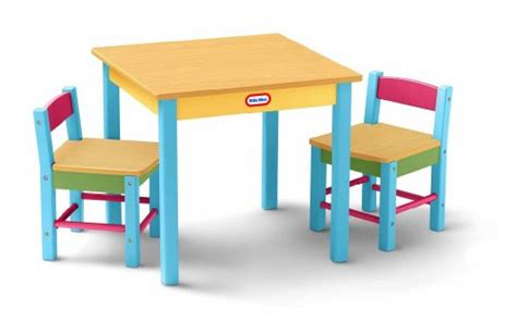 Tikes Garden Chair And Table by Order Here Tikes Deluxe Wooden Table Chairs Set