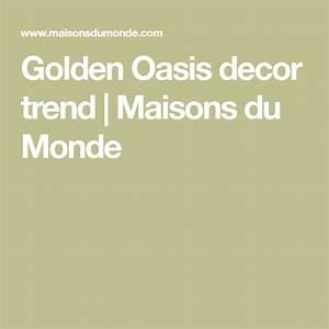Golden Oasis Decor Trend