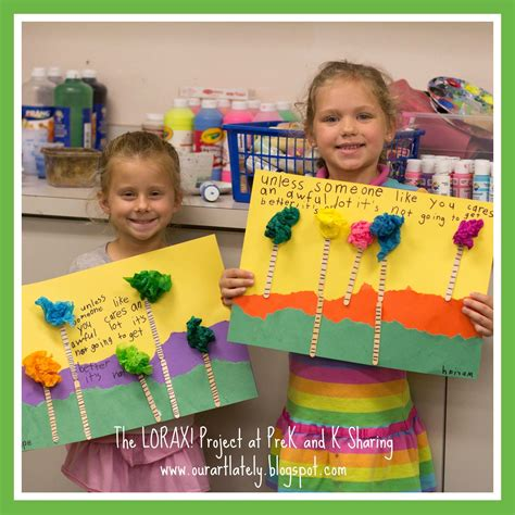 dr seuss tacular earth day project the lorax from 748 | 51cb0a60b948c9bc1f72d1ae33043215