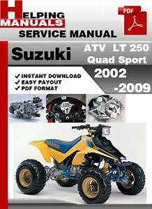 Suzuki Atv Lt 250 Quad Sport 2002