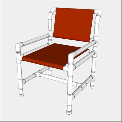 standard pvc dining chair build