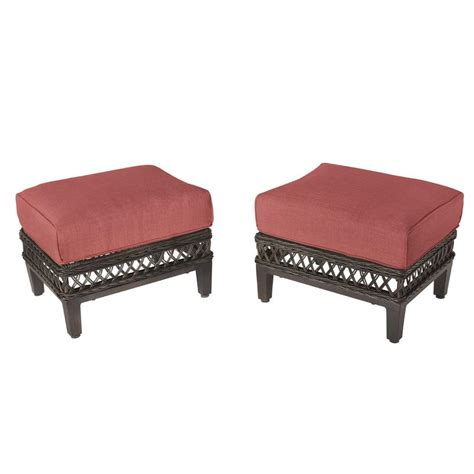 ottoman chair patio  nesting outdoor furniture chairs