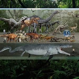 Jurassic World- All the Dinosaurs of Jurassic World ...