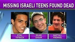 Israel's PM on teens: 'May God avenge their blood' - CNN