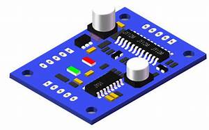 Hall Effect 3 Phase Bldc Motor Driver Rotating Direction