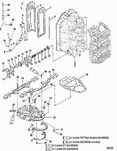 25 Hp Mercury Outboard Parts Diagram