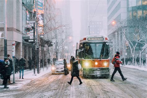 toronto snow storm week might blogto