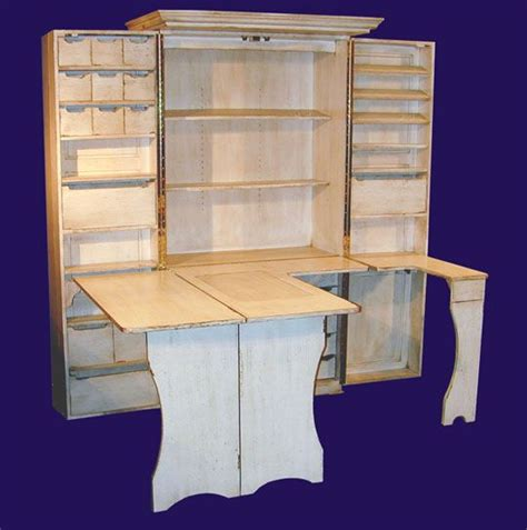 Diy Sewing Cabinet Plans by Sewing Scrapbooking Cabinet I Want One For Each But Not