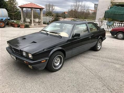 si鑒e auto 0 1 sold maserati biturbo si used cars for sale autouncle