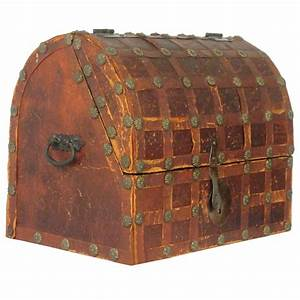 1950s Leather Dome Box For Sale At 1stdibs