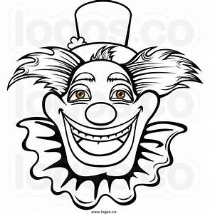 Clown Black And White Balloons Clipart - Clipart Suggest