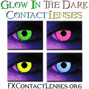 Image Gallery neon purple contacts