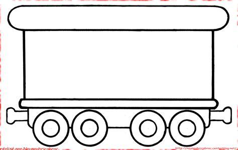 Coloriages Bricabrac Wagon à Colorier