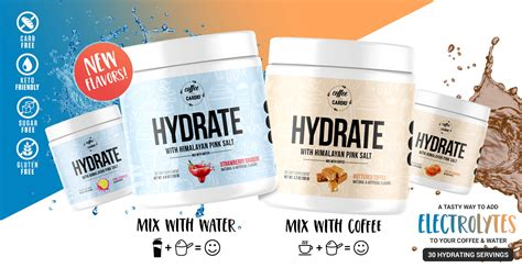Other hydrators i've purchased are way too sweet. HYDRATE with Himalayan Sea Salt is the newest addition to ...