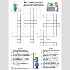 Atmosphere Worksheets — Puzzles & Project!  Fran's Freebies