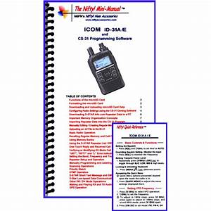 Instruction Manual For The Icom Id