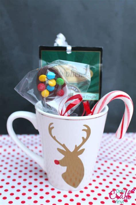 stephens hot chocolate neighbor gift  girl   glue gun