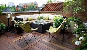 Terrasse Dekorieren Modern : 1001 ideen f r terrassengestaltung modern luxuri s und gem tlich terrasse und balkon ~ Fotosdekora.club Haus und Dekorationen