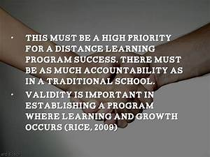 Characteristics of Successful Distance Learning