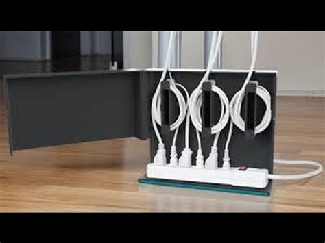 passe cable tv mural desk cable mangment system