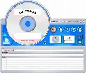 Tdk lpcw 100 cd dvd label printer page 3 of 5 mycecom for Dvd sticker printing