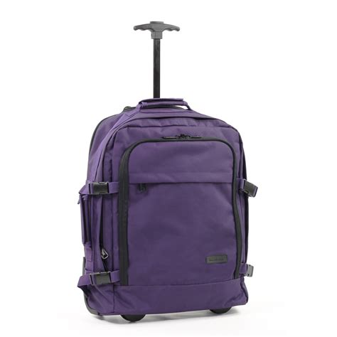 cabin size rucksack members essentials on board backpack on wheels cabin size
