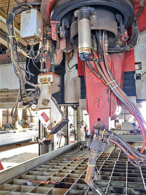 robots welding igm ibs portal type bevelling robot