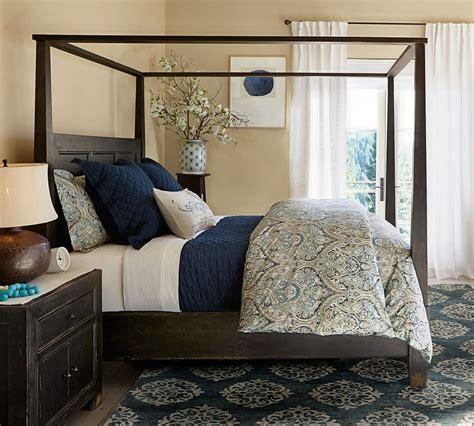 Mackenna Paisley Quilt Cover & Pillowcase Blue