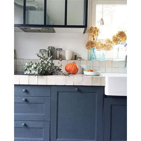 peinture couleur cuisine cuisine bleue maison