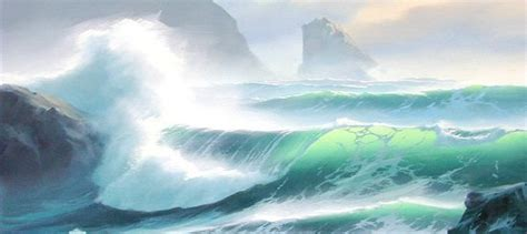 how to paint a l how to paint a breaking ocean wave oil painting tutorial