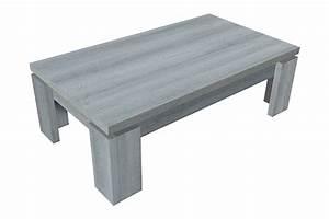 Table Basse Chene Gris : table basse norden chene gris ~ Teatrodelosmanantiales.com Idées de Décoration