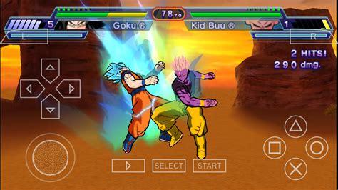 dragon budokai ball shin super ppsspp mod android screenshots battlegrounds v2