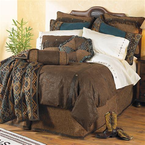 western bedding twin size del rio bed setlone star western decor