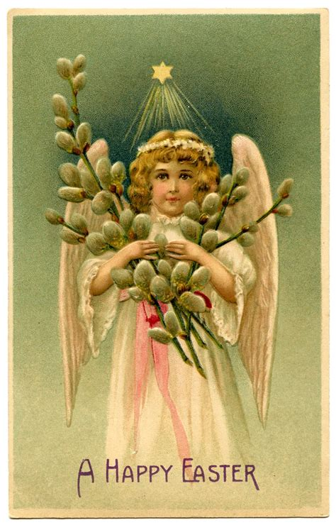 victorian graphic easter angel  graphics fairy