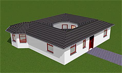 atrium  bungalow einfamilienhaus neubau massivbau stein