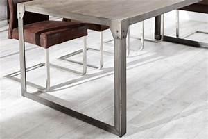 Tisch 160 X 90 : esstisch metall gestell tisch im industriedesign ma e 160 x 90 cm ~ Bigdaddyawards.com Haus und Dekorationen
