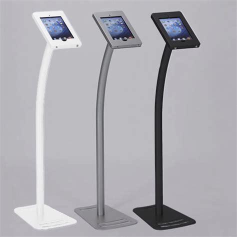 ipad kiosk table mount standard ipad kiosk stand w lockable clamshell for trade