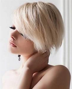 Coupe Courte Ete 2017 : belles coupes courtes blondes piquer t 2017 coiffure simple et facile ~ Nature-et-papiers.com Idées de Décoration