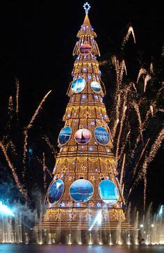trees of lights in brazil the tree in fuengirola m 225 laga spain the town in the background costa