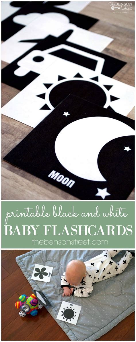 Black And White Baby Flashcards  The Benson Street