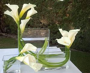 decoration florale vin dhonneur mariage arum callas blancs With chambre bébé design avec fleuriste mariage