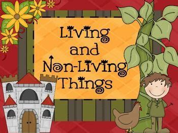 living and non living things powerpoint tpt science lessons teaching science science
