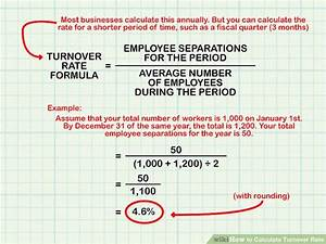 How to Calculate Turnover Rate: 8 Steps (with Pictures ...