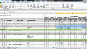 Project Evaluation Template Manpower Planning Excel Template Virtren Com Excel