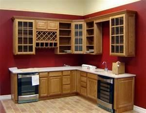 meuble cuisine bois rouge urbantrottcom With awesome meuble de cuisine en bois rouge 0 cuisine moderne en bois