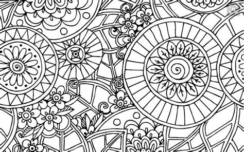 relieve daily stresses  beautiful  mandala coloring pages