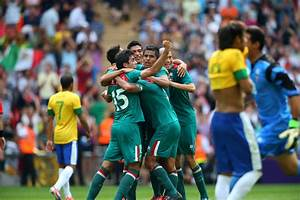 In Olympic Soccer, Mexico's Beauty and Brazil's Failure ...