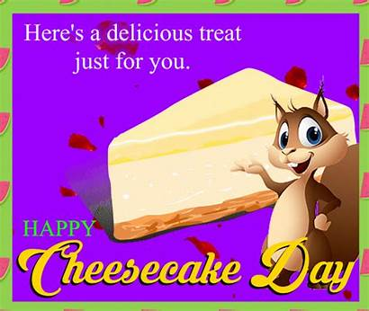 Treat Delicious Cheesecake National 123greetings Ecard